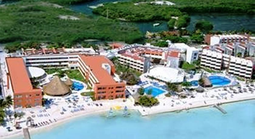 Aerial View of Temptation Resort Spa